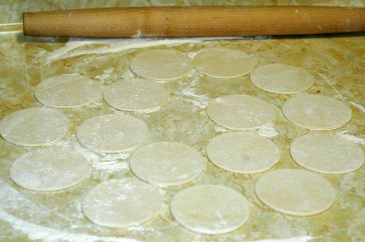 Pierogi Dough Rounds