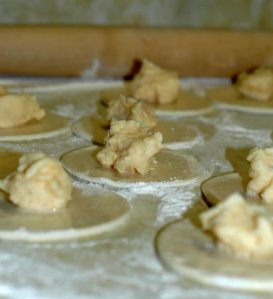 Pierogi Filling Up