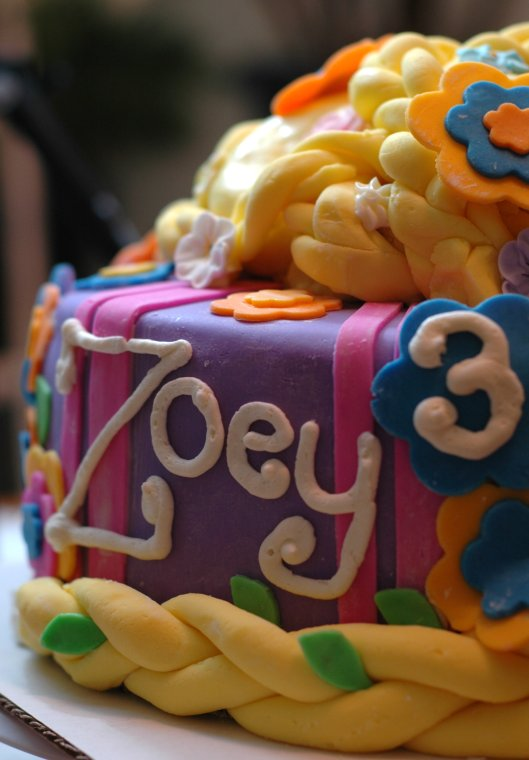 Tangled Cake 1