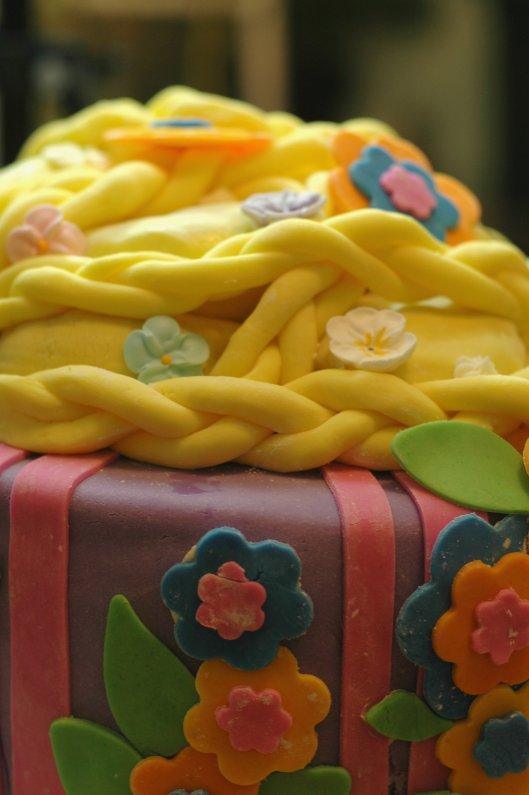 Tangled Cake 3